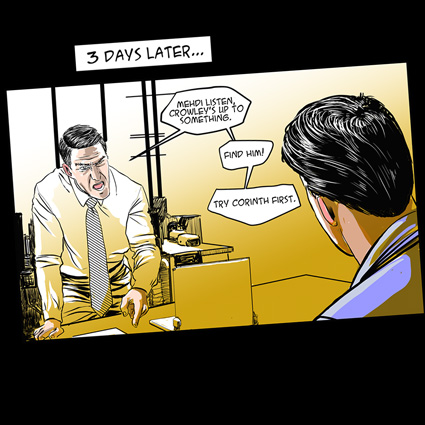 Missing Scientist Mission comic excerpt